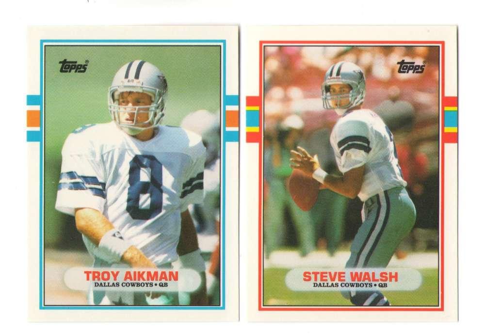 1989 Topps Traded Football Team Set - DALLAS COWBOYS