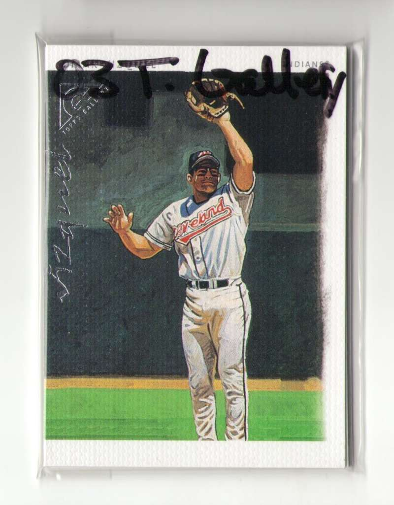 2003 Topps Gallery - CLEVELAND INDIANS Team Set