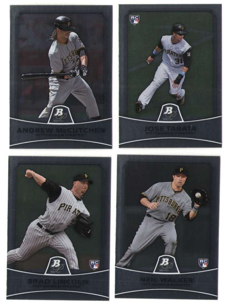 2010 Bowman Platinum - PITTSBURGH PIRATES Team Set