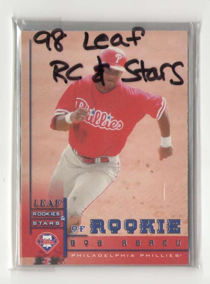1998 Leaf Rookies and Stars (1-339) - PHILADELPHIA PHILLIES Team Set