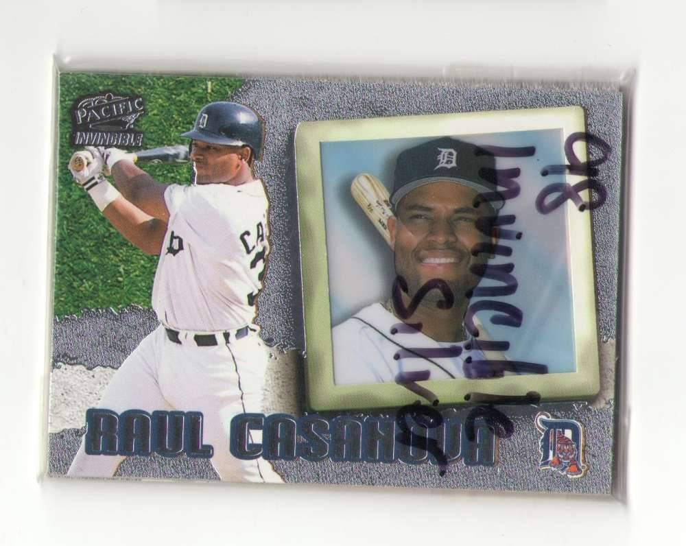 1998 Pacific Invincible Silver - DETROIT TIGERS Team Set