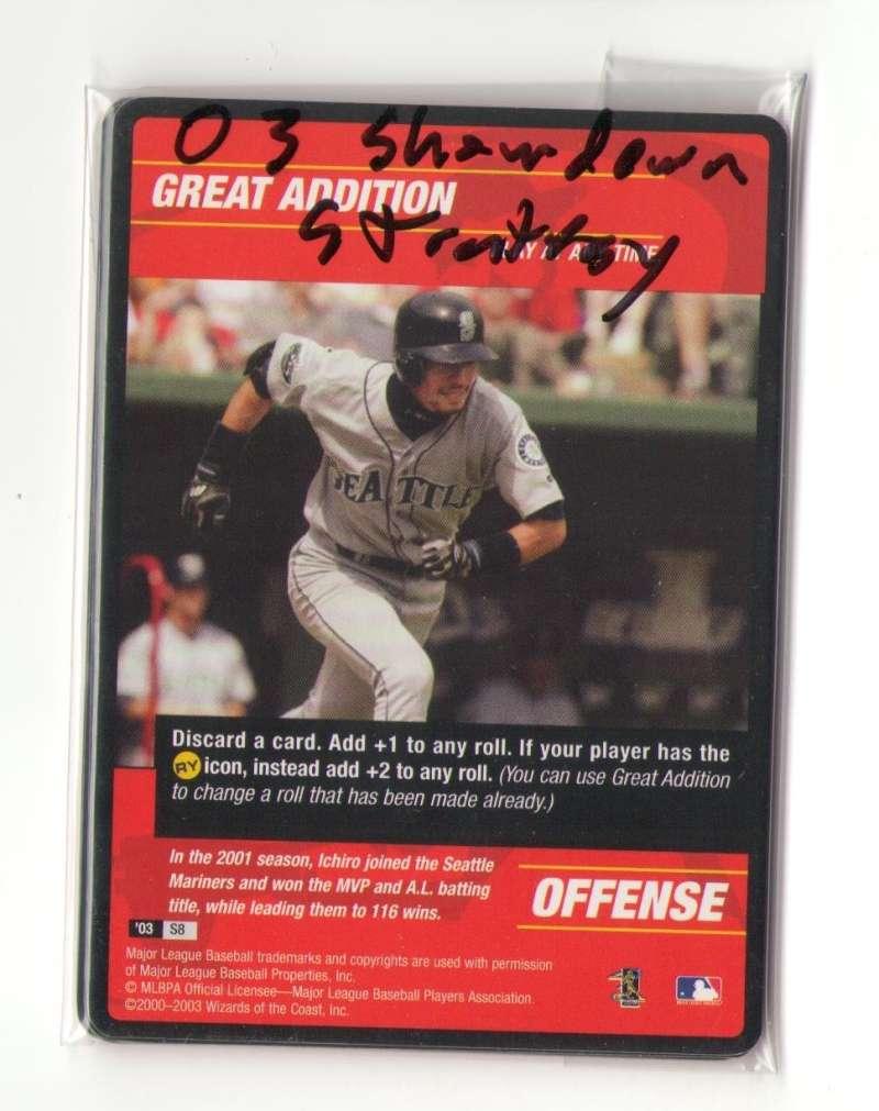 2003 MLB Showdown Strategy - SEATTLE MARINERS Team Set