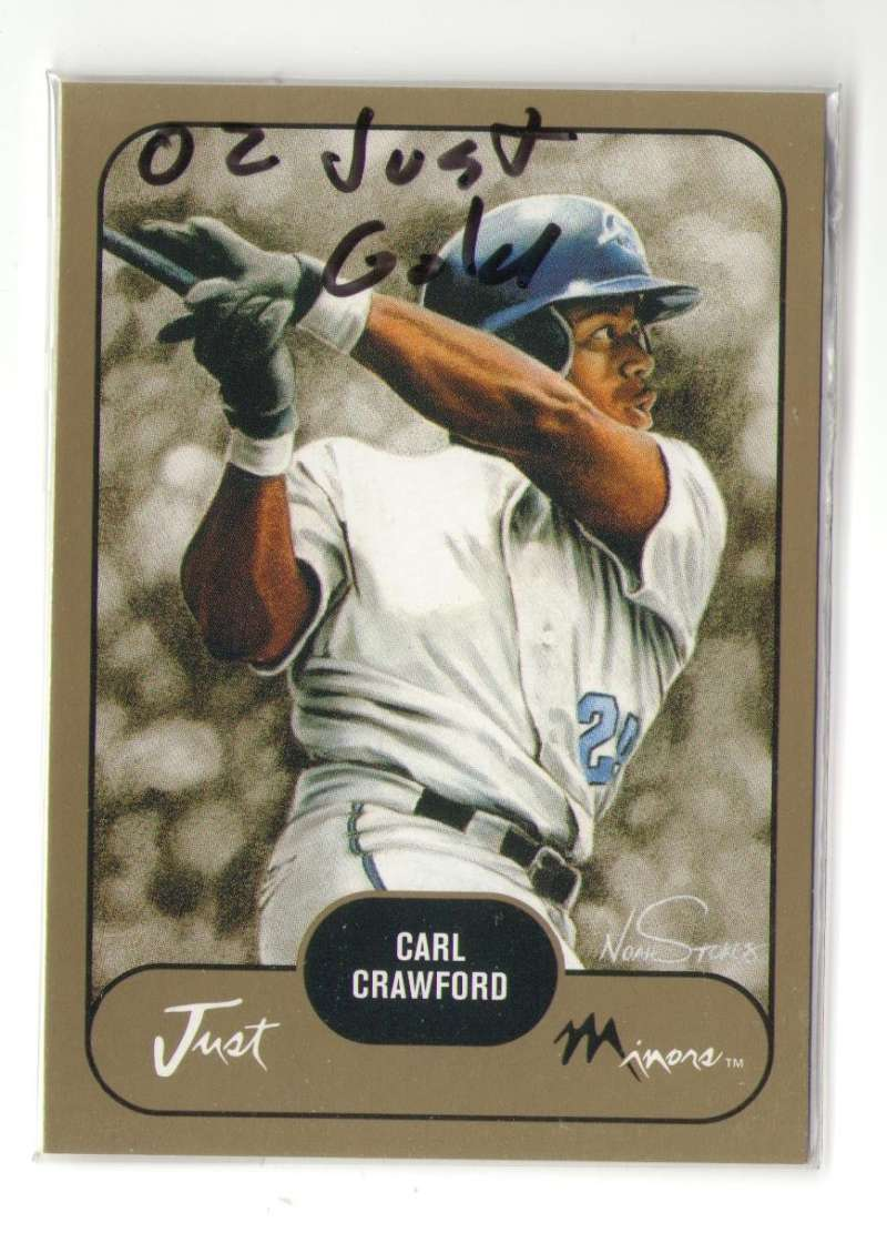 2002 Just Prospects Gold - TAMPA BAY DEVIL RAYS Team Set