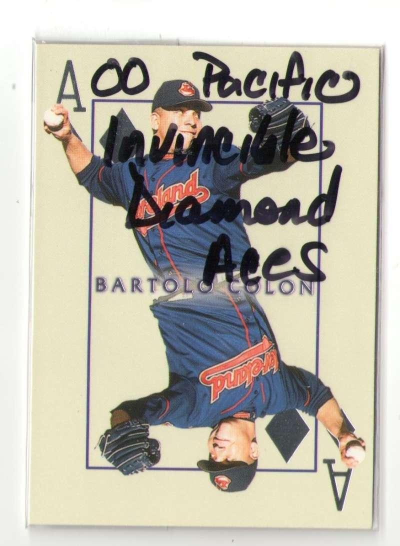 2000 Pacific Invincible Diamond Aces - CLEVELAND INDIANS