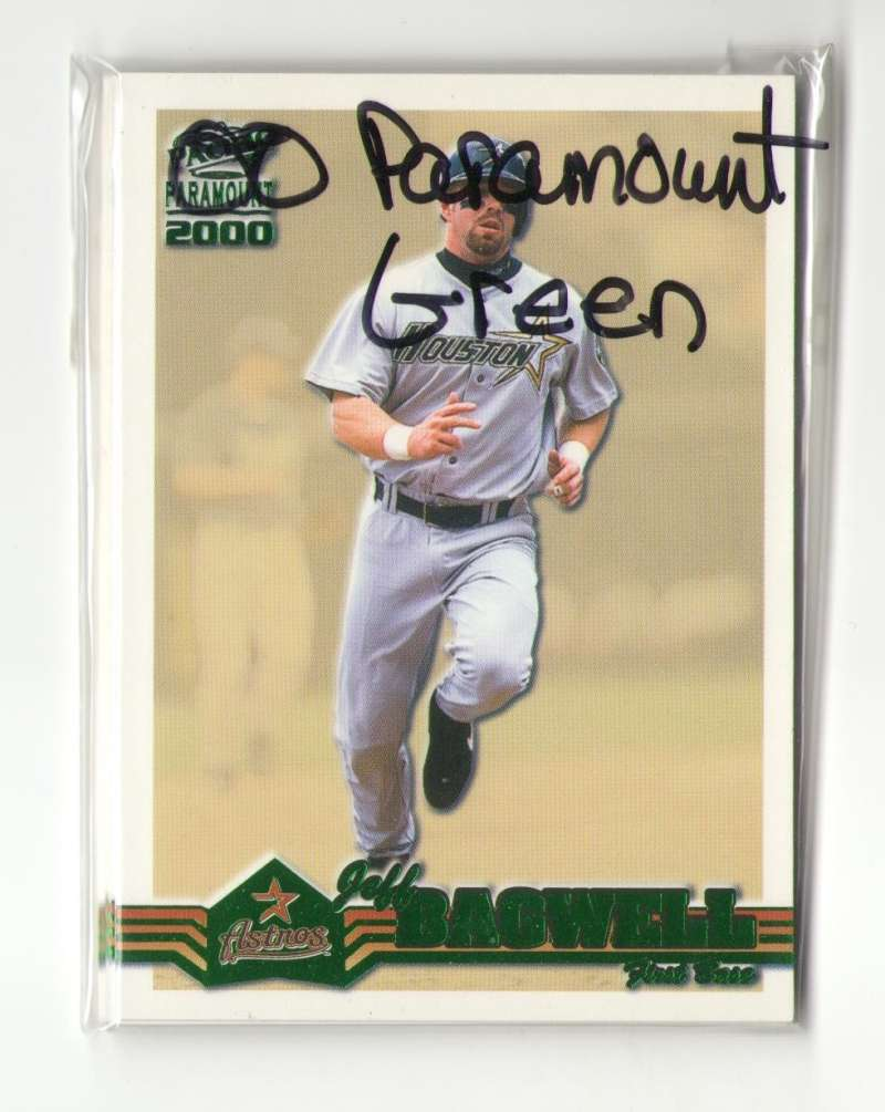 2000 Paramount Green - HOUSTON ASTROS Team Set