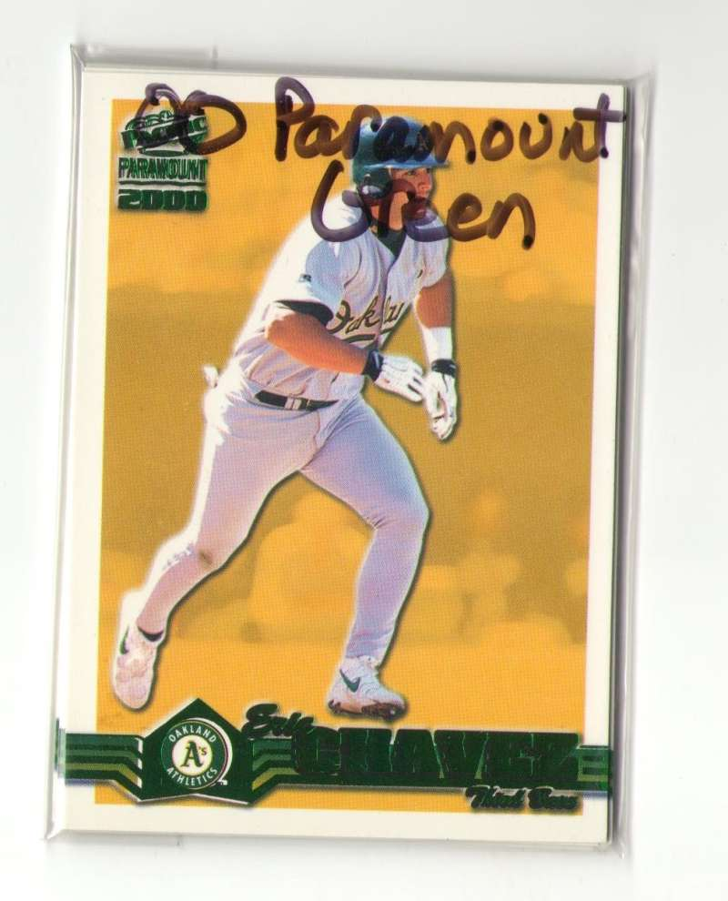 2000 Paramount Green - OAKLAND ATHLETICS / A'S Team Set