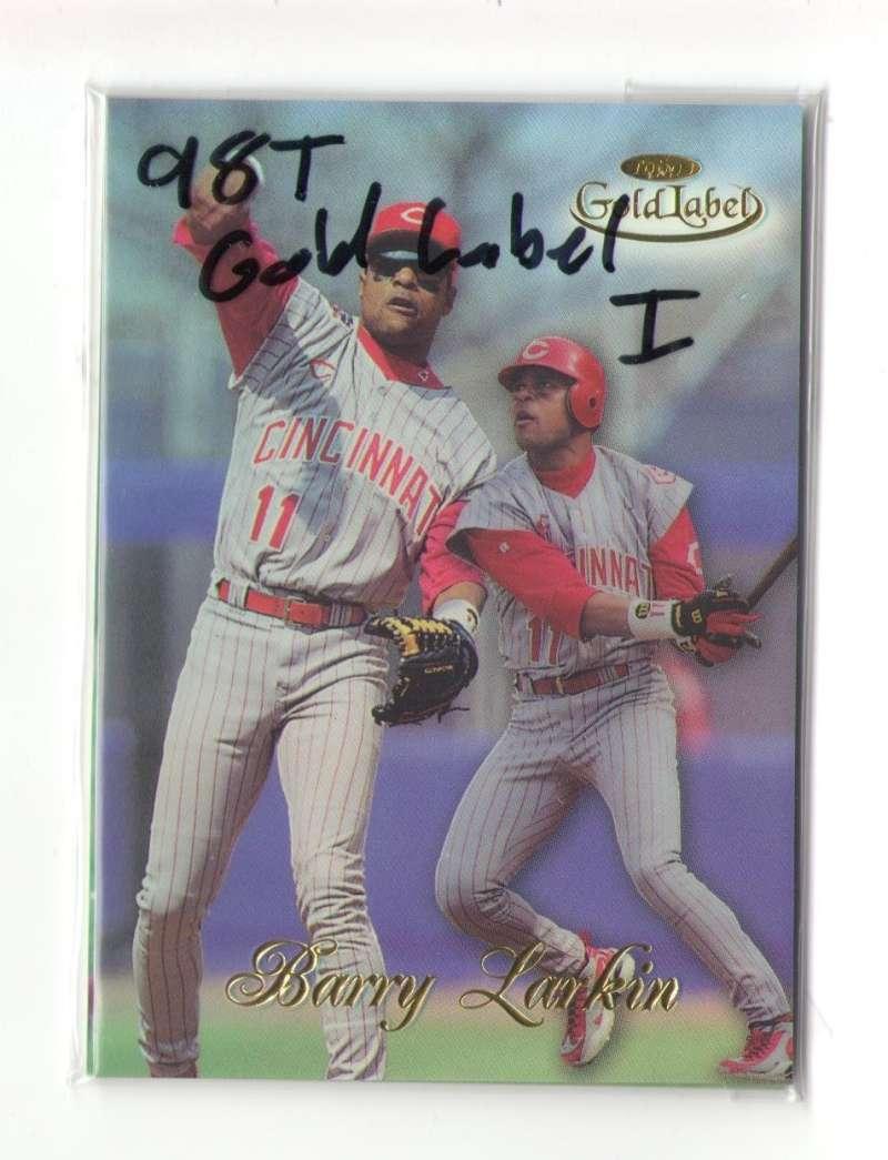 1998 Topps Gold Label Class 1 - CINCINNATI REDS Team Set