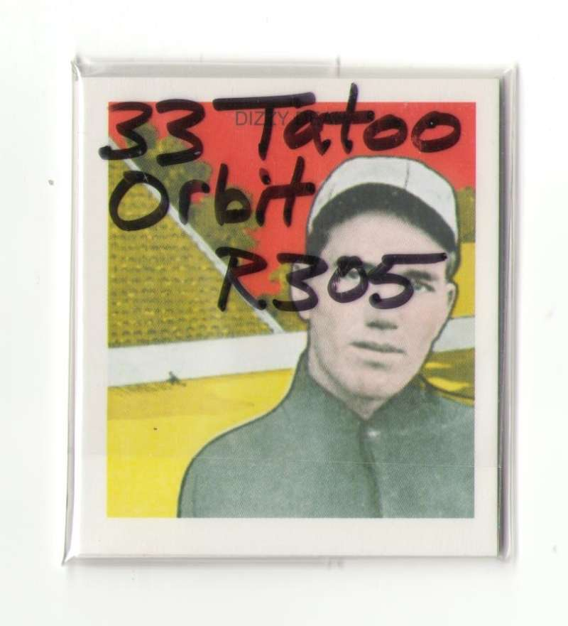 1933 Tatoo Orbits (R305) Reprints - ST LOUIS CARDINALS Team Set