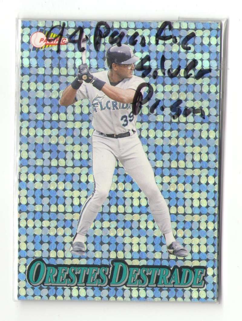 1994 Pacific Silver Prisms - FLORIDA MARLINS Team Set