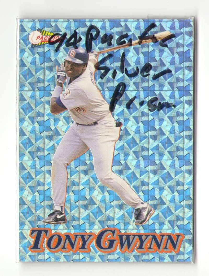 1994 Pacific Silver Prisms - SAN DIEGO PADRES Team Set