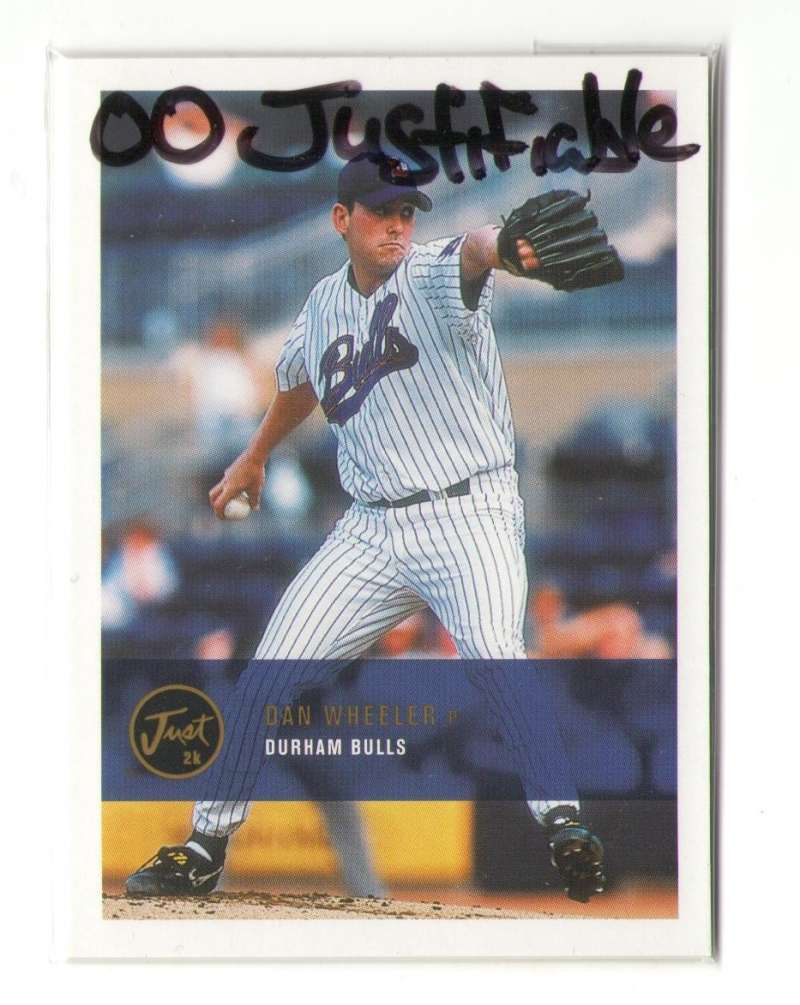 2000 Just Justifiable - TAMPA BAY DEVIL RAYS Team Set