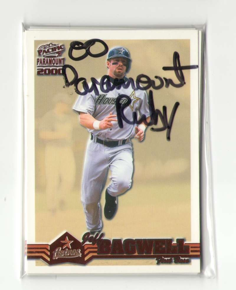 2000 Paramount Ruby - HOUSTON ASTROS Team Set