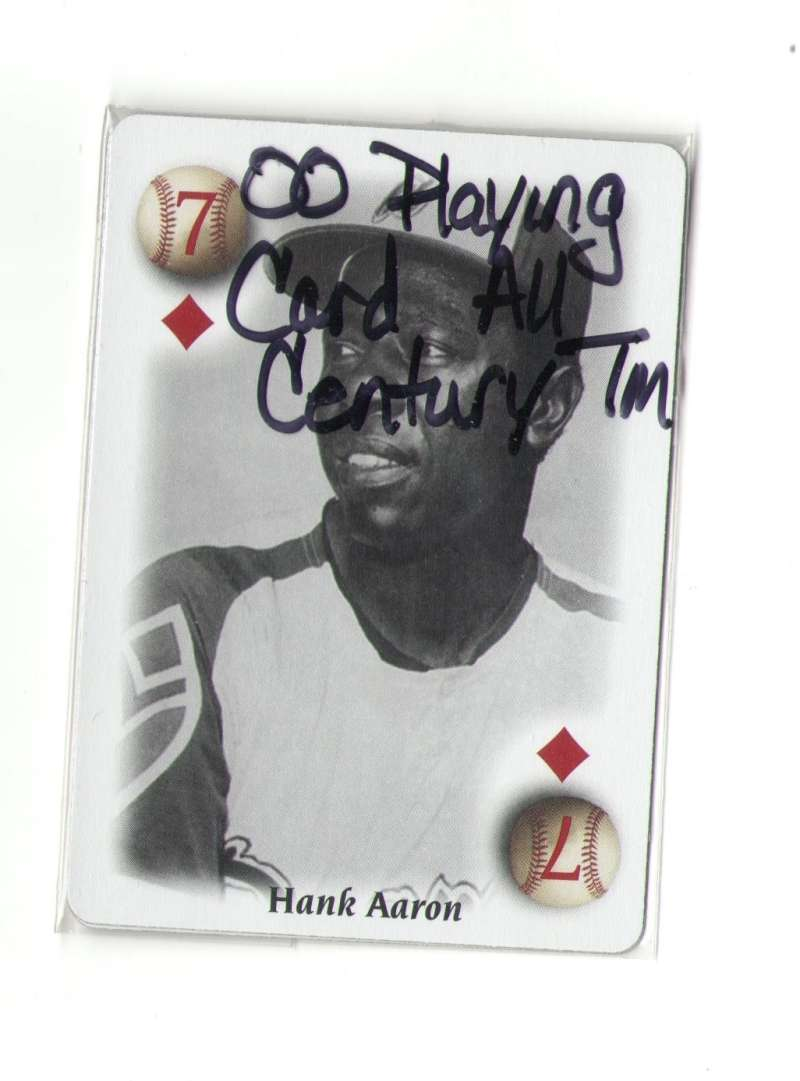 2000 Playing Cards All-Century Team - ATLANTA BRAVES 2 Cards