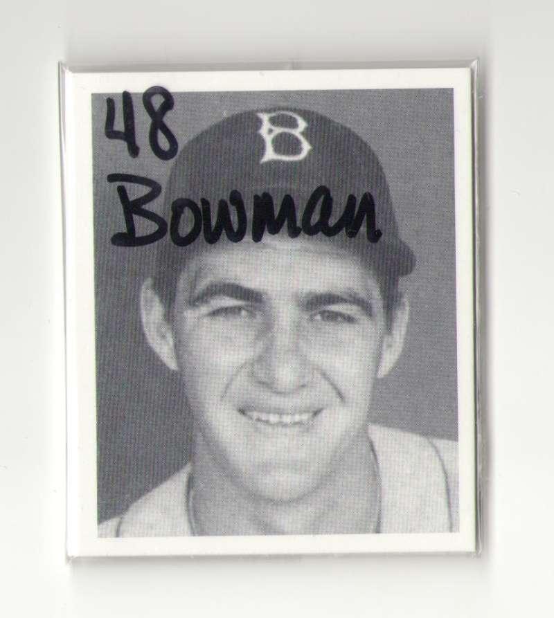 1948 Bowman Reprints - BROOKLYN DODGERS Team Set