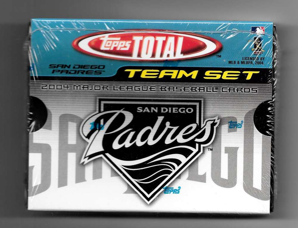 2004 Topps TOTAL Factory Team Set - SAN DIEGO PADRES