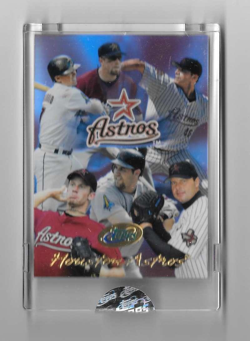 2004 eTopps Team Card - HOUSTON ASTROS