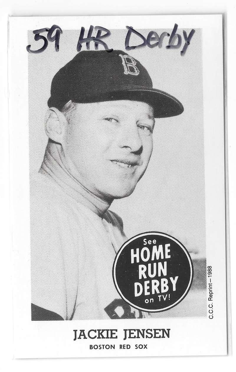 1959 Home Run Derby Reprints - BOSTON RED SOX
