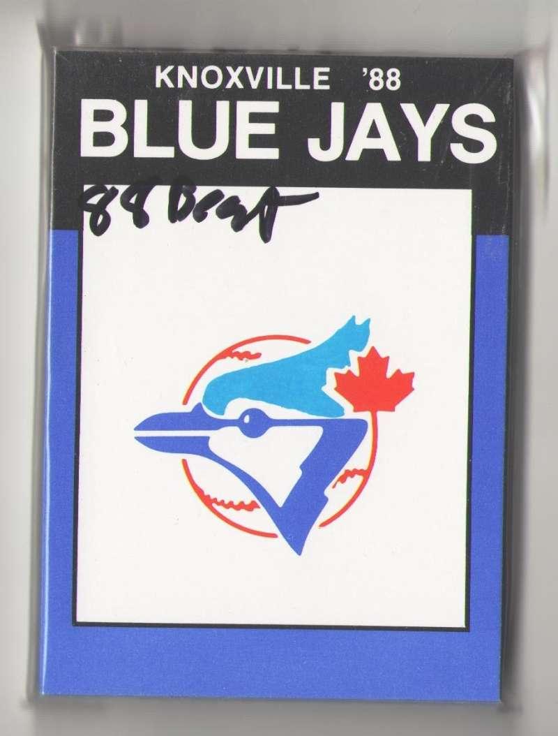 1988 Best Minor League Team Set - Knoxville TORONTO BLUE JAYS