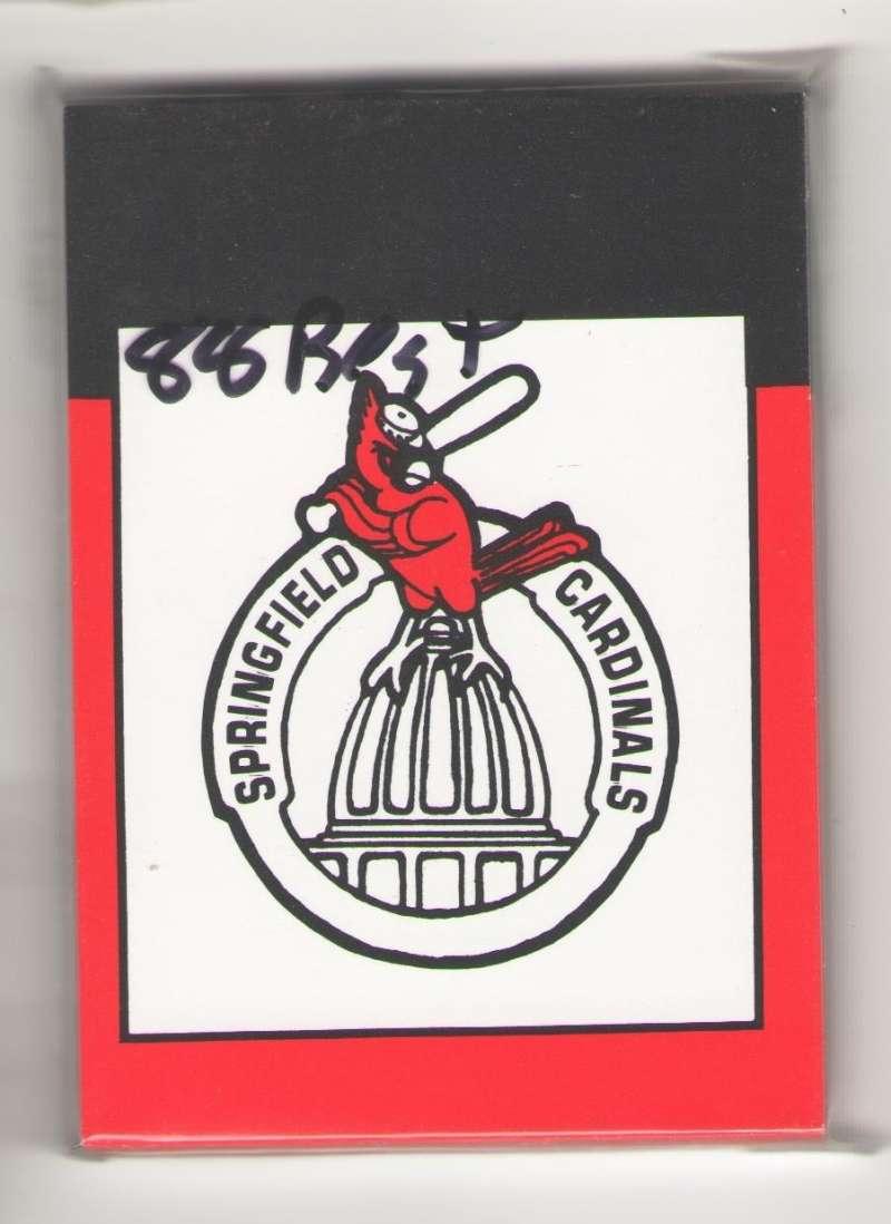 1988 Best Minor League Team Set - Springfield CARDINALS