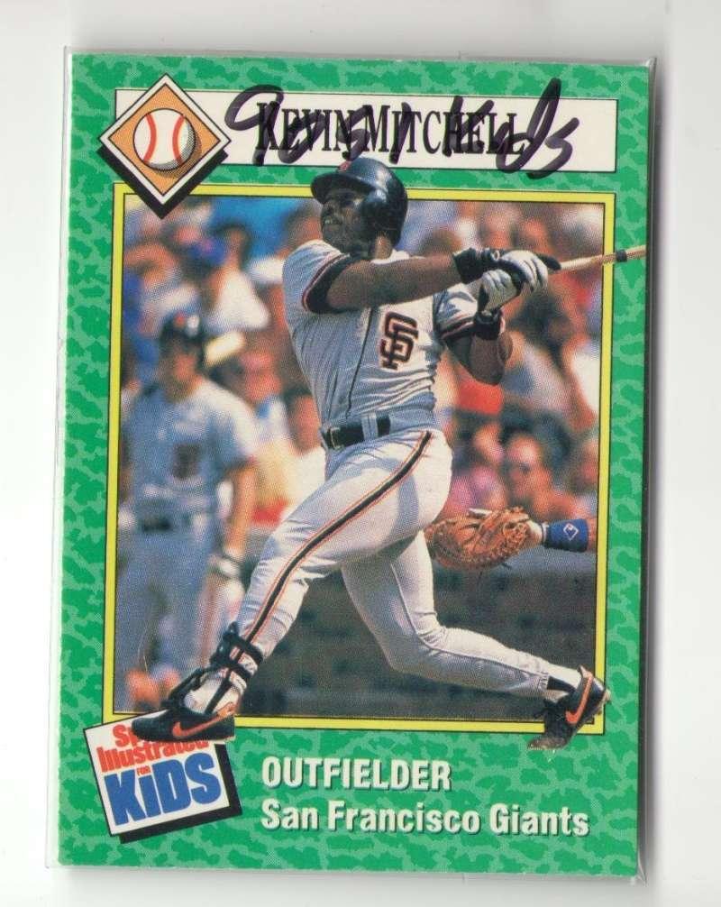 1990 Sports Illustrated for Kids - SAN FRANCISCO GIANTS Team Set