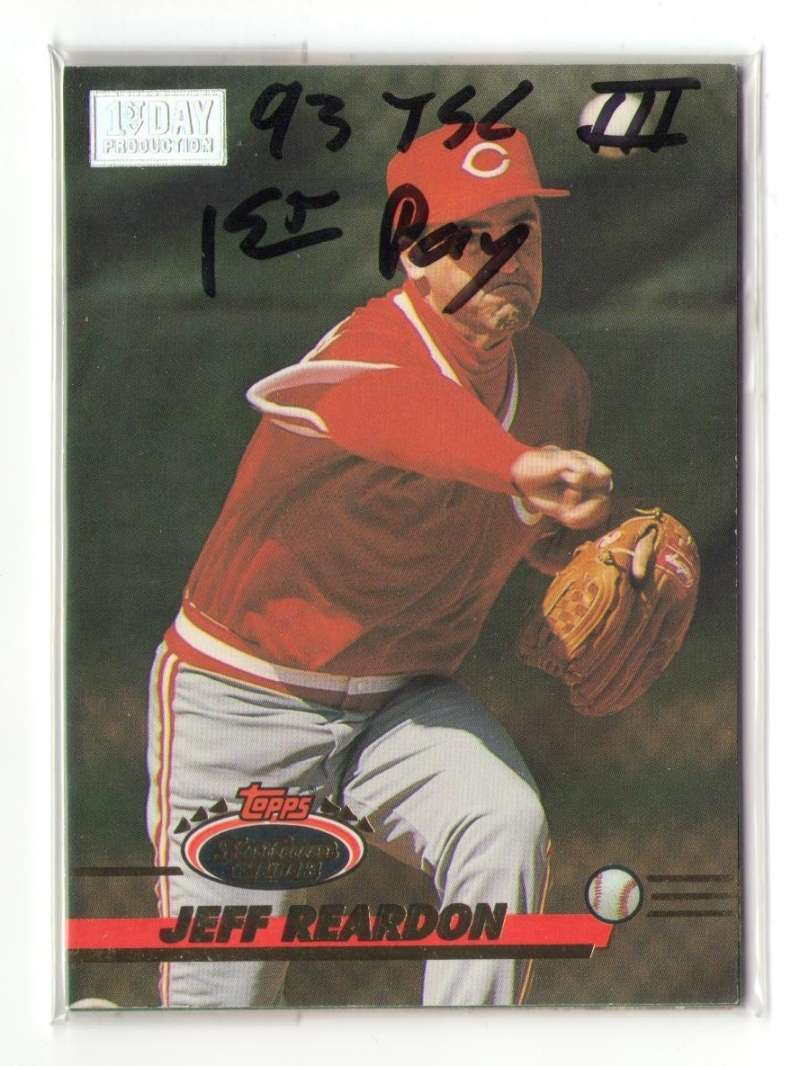 1993 TSC First Day Issue S3 (601-750) - CINCINNATI REDS Team Set