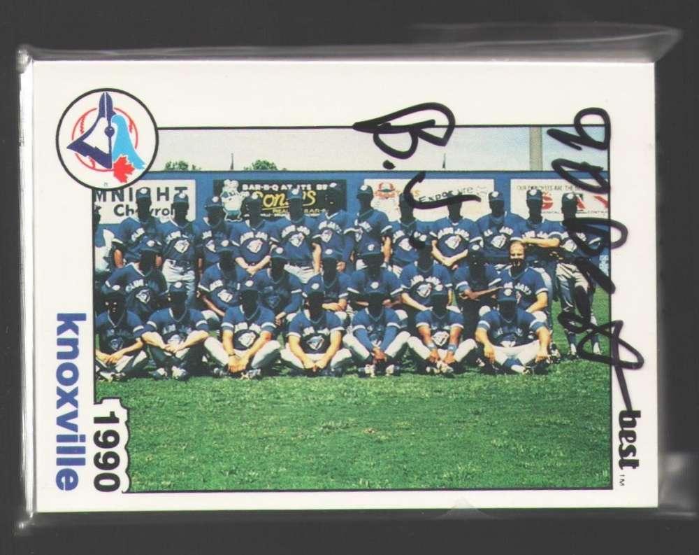 1990 Best Minor League Team Set - Knoxville BLUE JAYS