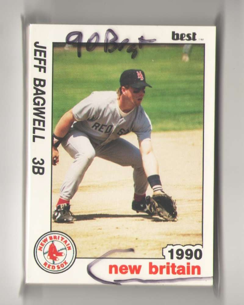 1990 Best Minor League Team Set - New Britain RED SOX (Jeff Bagwell)