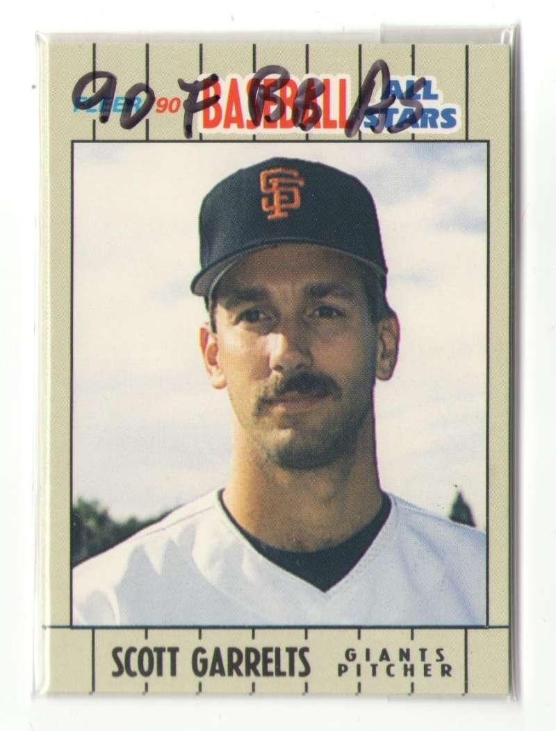 1990 Fleer Baseball All Stars - SAN FRANCISCO GIANTS Team Set