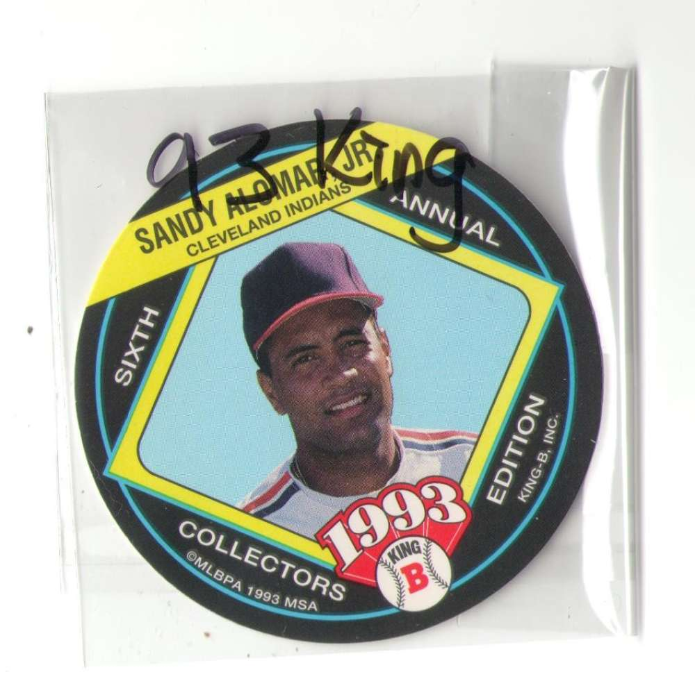 1993 King-B Discs - CLEVELAND INDIANS