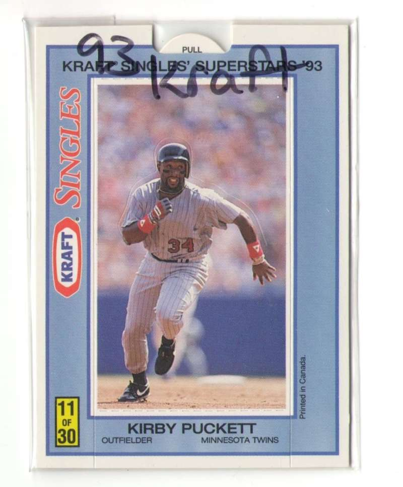 1993 Kraft - MINNESOTA TWINS Team Set