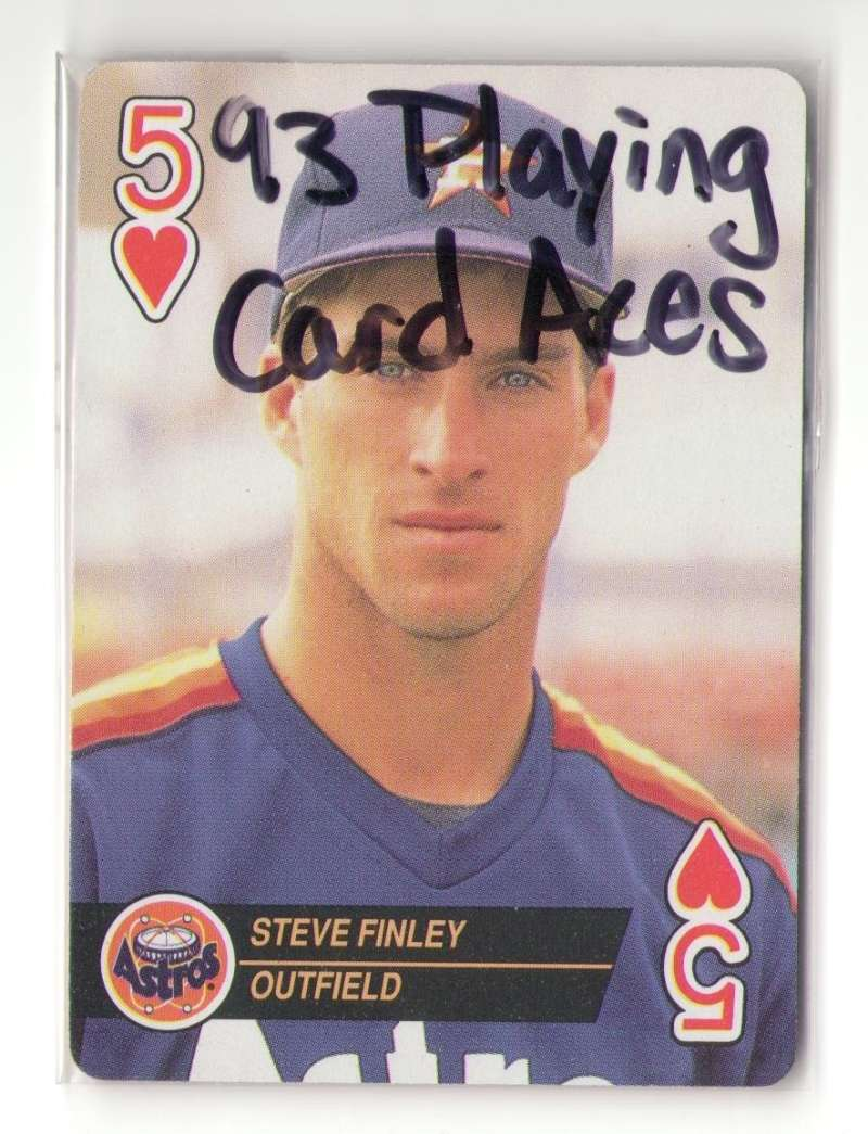 1993 U.S. Playing Cards Aces - HOUSTON ASTROS Team set