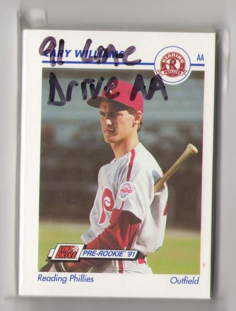 1991 Line Drive AA Minor League - Reading PHILLIES Team Set