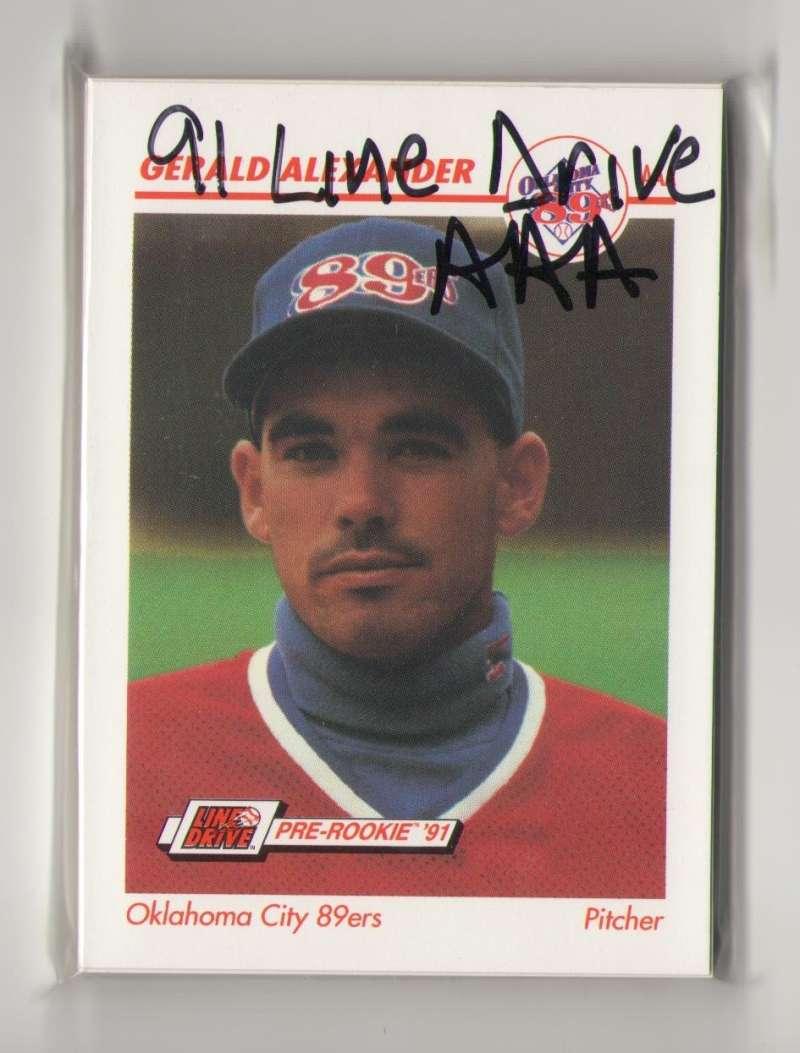 1991 Line Drive AAA Minor League - Oklahoma City 89ers