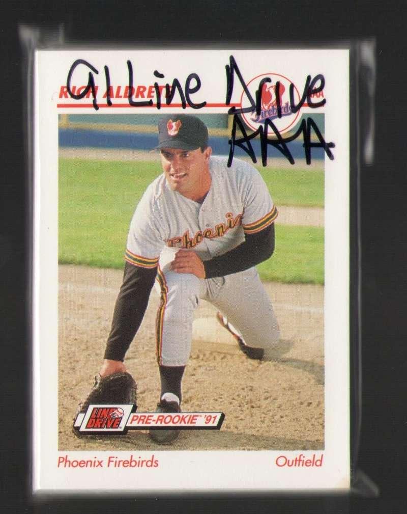 1991 Line Drive AAA Minor League - phoenix Firebirds