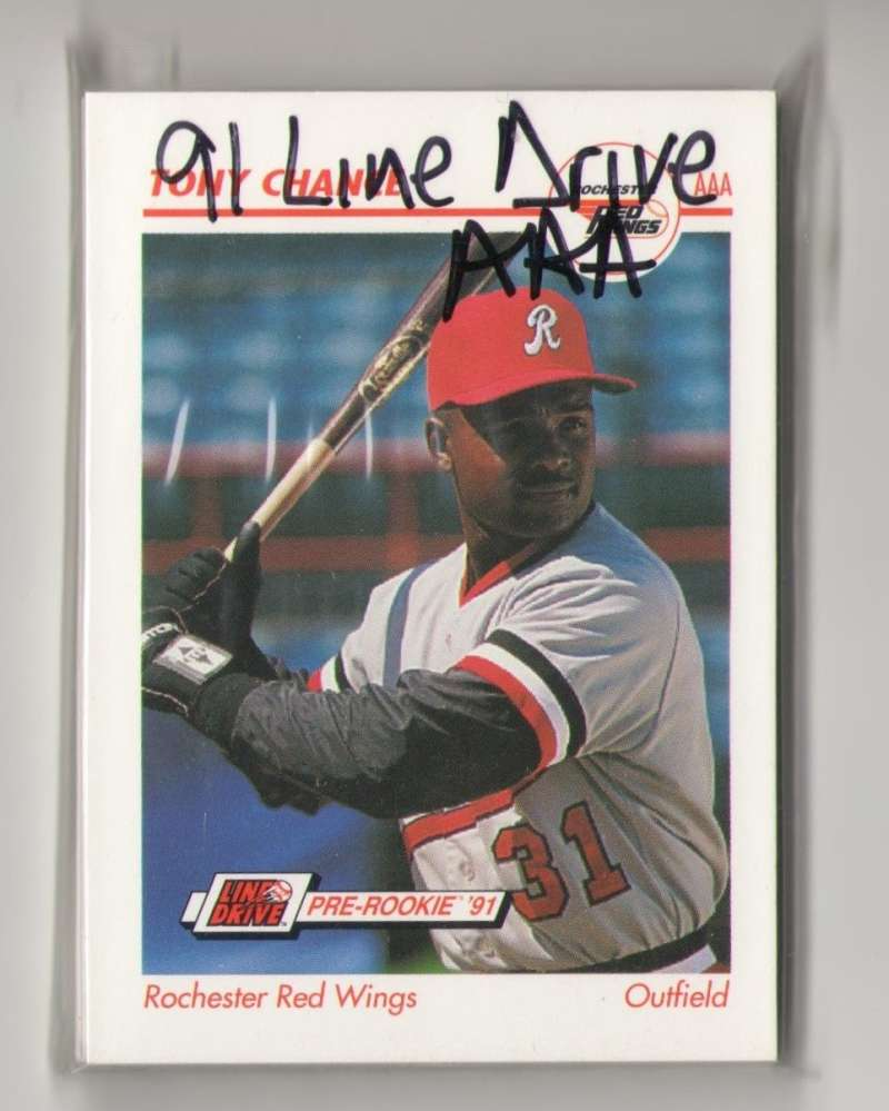 1991 Line Drive AAA Minor League - Rochester Red Wings