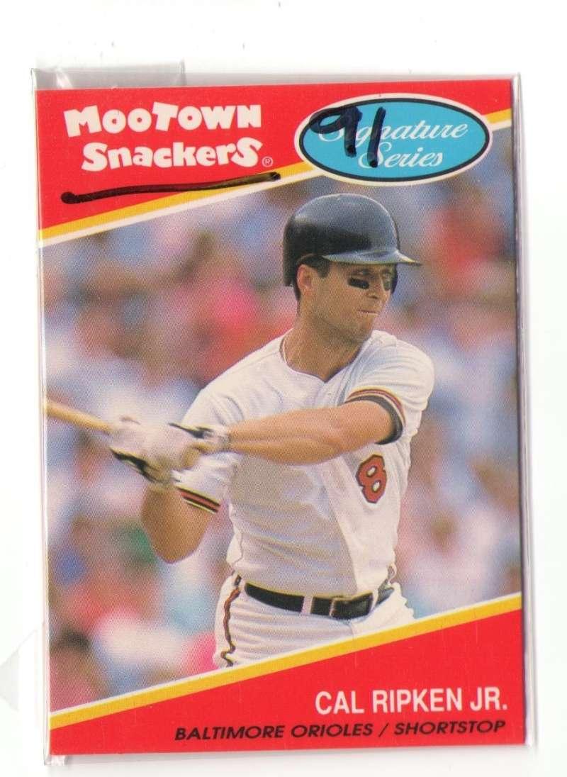 1991 Mootown Snackers - BALTIMORE ORIOLES Team Set