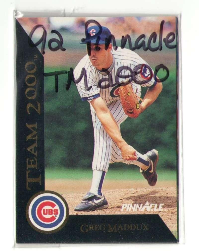 1992 Pinnacle Team 2000 CHICAGO CUBS Team Set