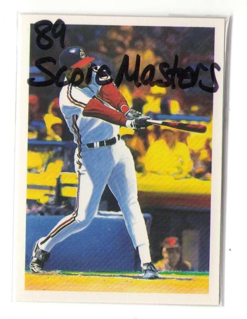 1989 ScoreMasters CLEVELAND INDIANS Team Set