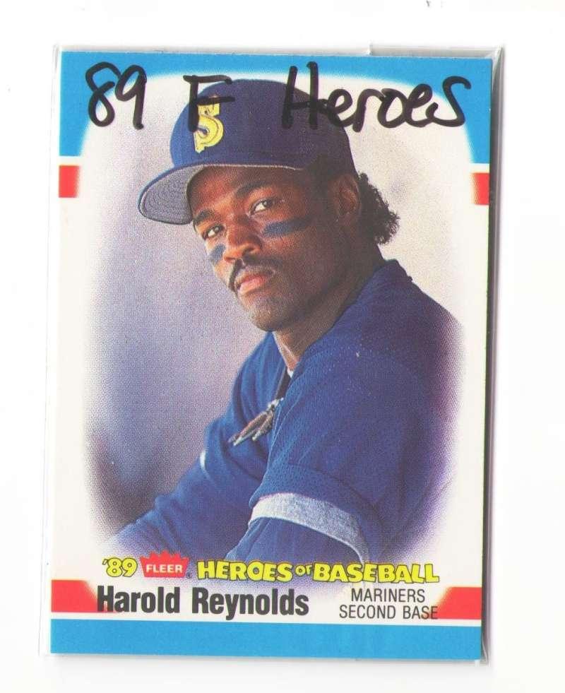 1989 Fleer Heroes of Baseball SEATTLE MARINERS Team Set
