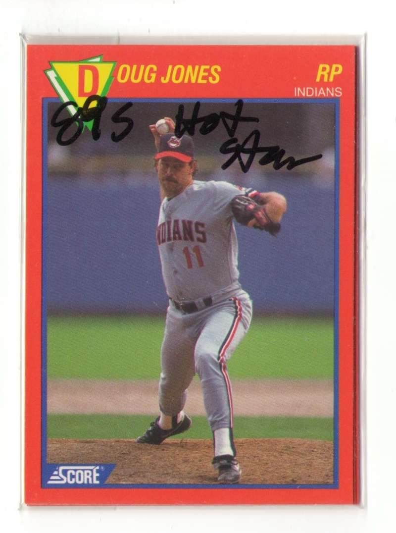 1989 Score Hottest 100 Stars - CLEVELAND INDIANS Team Set