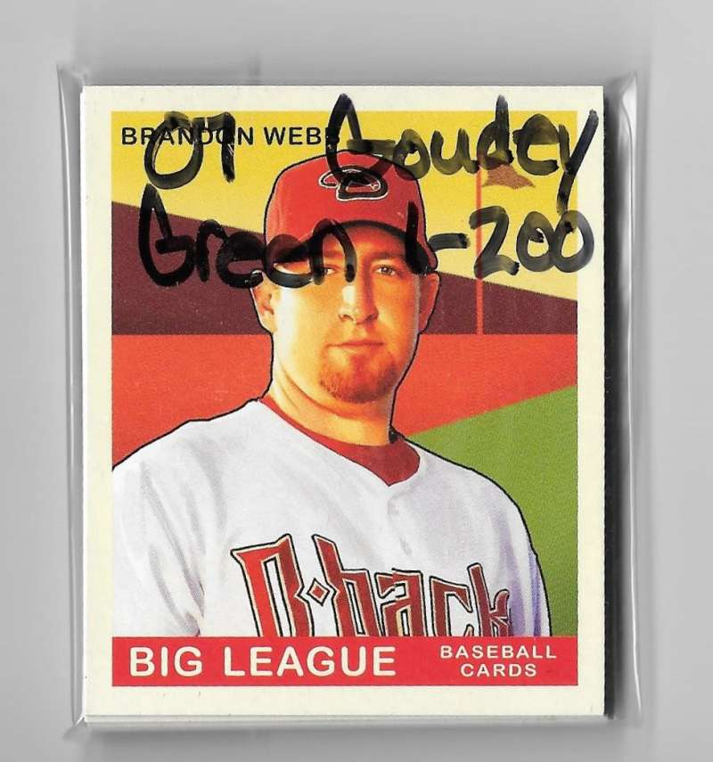 2007 Goudey Green Backs (1-200) - ARIZONA DIAMONDBACKS Team Set