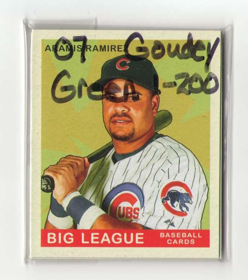 2007 Goudey Green Backs (1-200) - CHICAGO CUBS Team Set