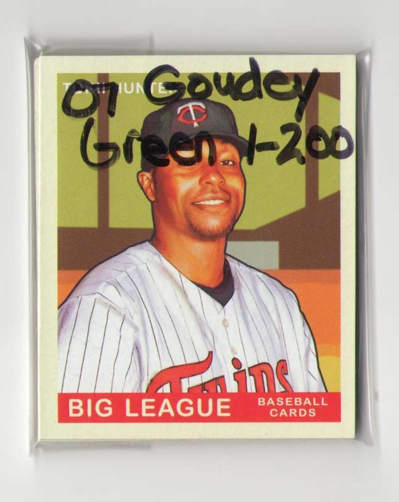 2007 Goudey Green Backs (1-200) - MINNESOTA TWINS Team Set