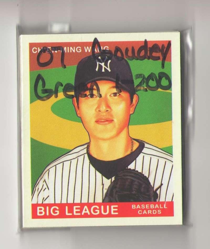 2007 Goudey Green Backs (1-200) - NEW YORK YANKEES Team Set