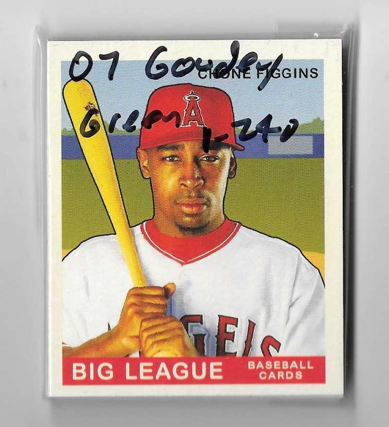 2007 Goudey Green Backs (1-240) - LOS ANGELES ANGELS Team Set