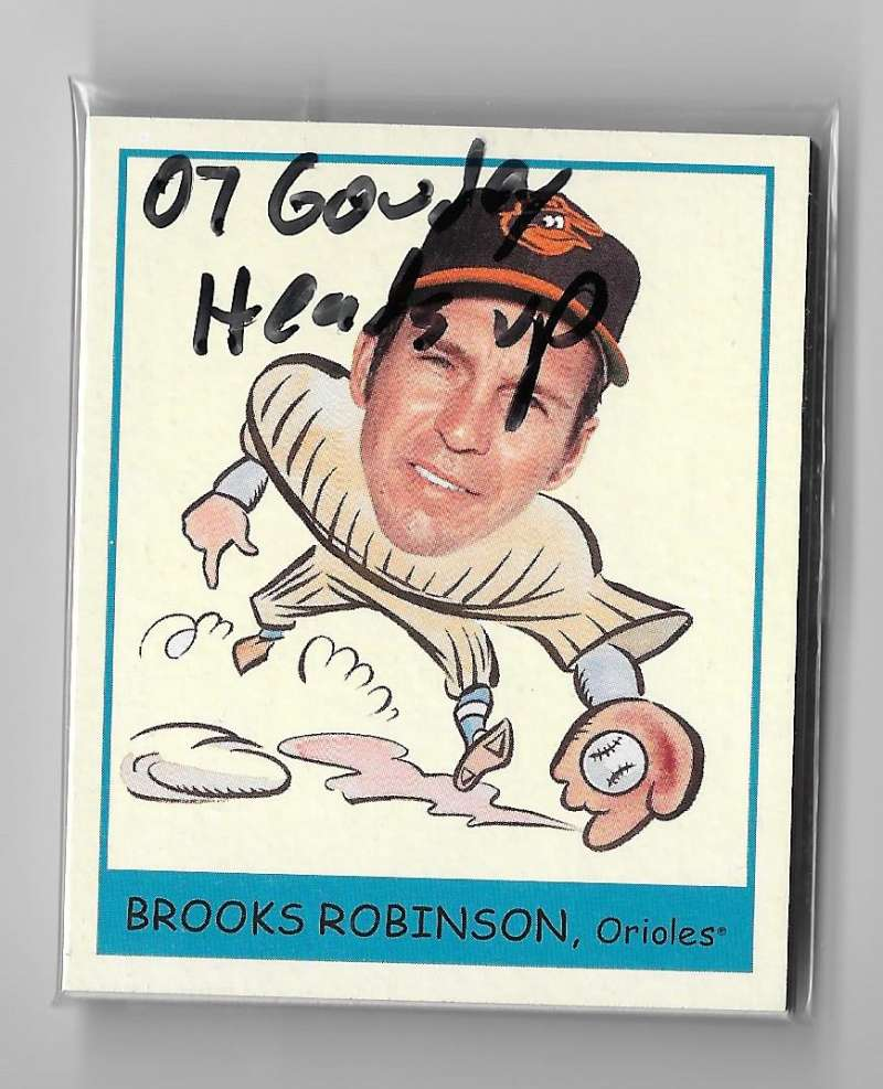 2007 Goudey Heads Up - BALTIMORE ORIOLES Team Set