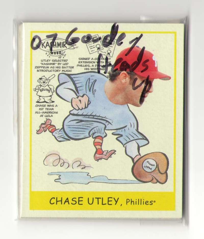 2007 Goudey Heads Up - PHILADELPHIA PHILLIES Team Set