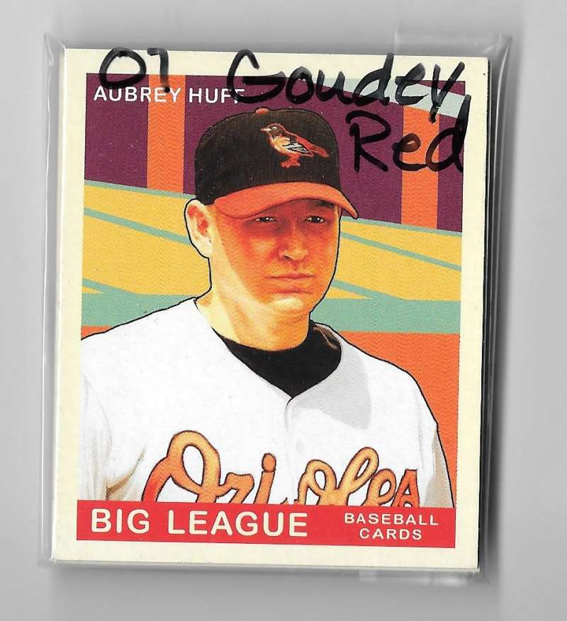 2007 Goudey Red Backs - BALTIMORE ORIOLES Team Set