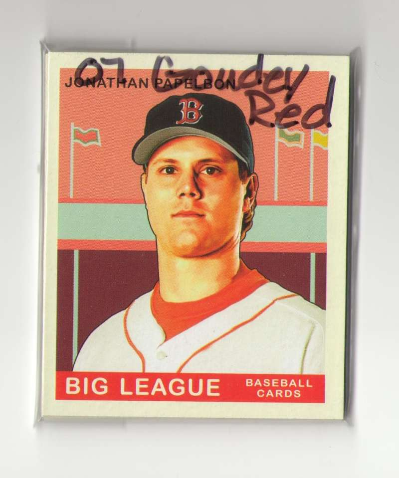 2007 Goudey Red Backs - BOSTON RED SOX Team Set