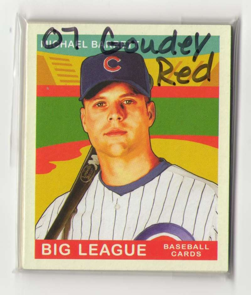 2007 Goudey Red Backs - CHICAGO CUBS Team Set